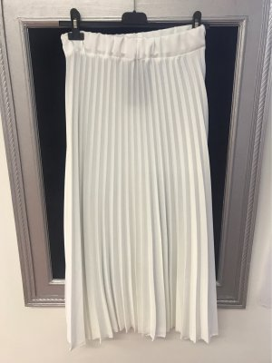 new collection Falda larga blanco puro