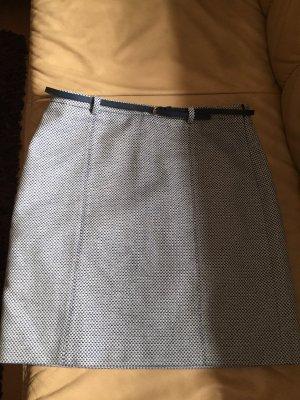 Esprit Spódnica ze stretchu jasnoszary-niebieski