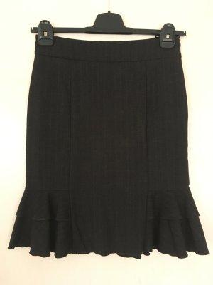 Orsay Godet Skirt anthracite-white