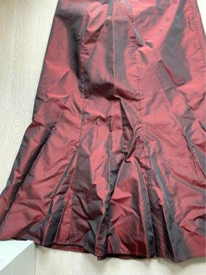 Spódnica maxi bordo