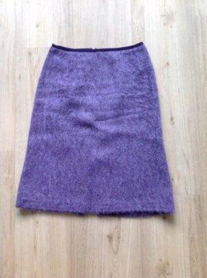 Turnover Wool Skirt lilac-lilac