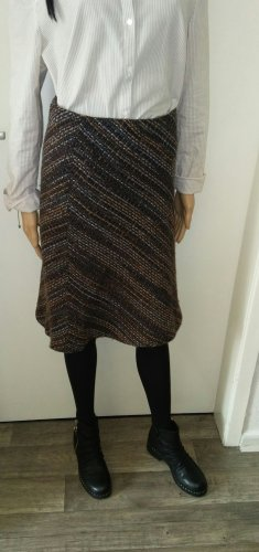 H&M Conscious Collection Wool Skirt multicolored