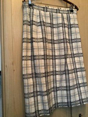 Jupe en laine multicolore tissu mixte