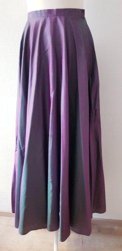 3 Suisses High Waist Skirt grey violet-green grey