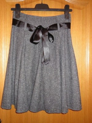 Jessica Howard Tweed Skirt grey-black
