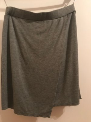 Qiero Asymmetry Skirt grey viscose