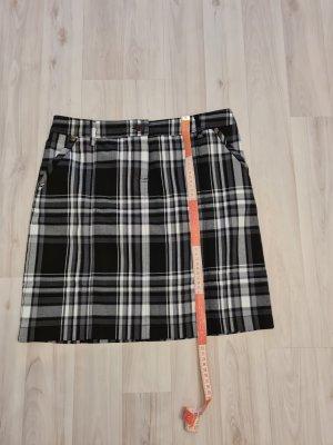 b.p.c.fashion Spódnica mini biały-czarny