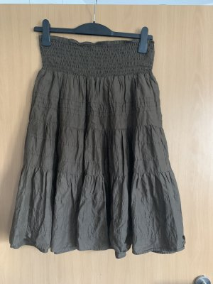 Circle Skirt dark brown