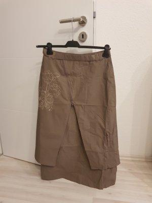 Ohne Midi Skirt grey brown