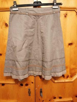 Koronkowa spódnica khaki