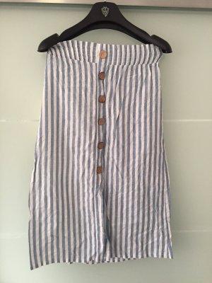 Hailys Maxi Skirt natural white-azure