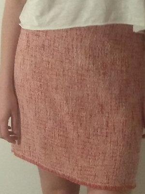 Hallhuber Jupe en laine rouge clair-rouge