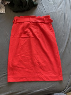 Hallhuber Spódnica midi czerwony