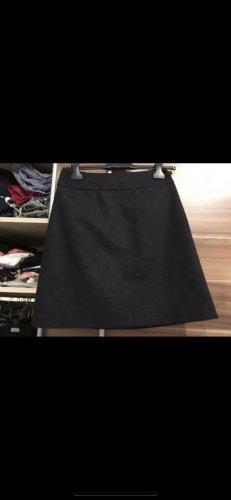 Hallhuber Wełniana spódnica ciemnoniebieski