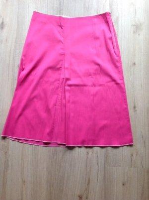 Asymmetrische rok roze-lichtroze