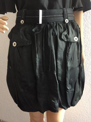 High Use Balloon Skirt black-white