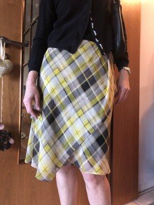 Zara Basic Spódnica midi Wielokolorowy
