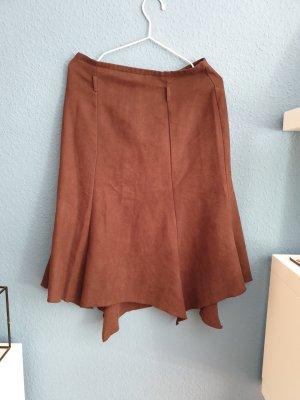 Yessica Jupe à crinoline brun