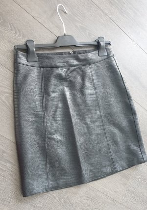 Orsay Spódnica z imitacji skóry czarny