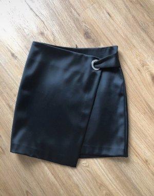H&M Zijden rok zwart