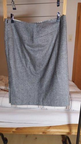 Essentials oui Tulip Skirt grey cotton
