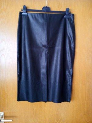 BAF Spódnica z wysokim stanem czarny Poliester