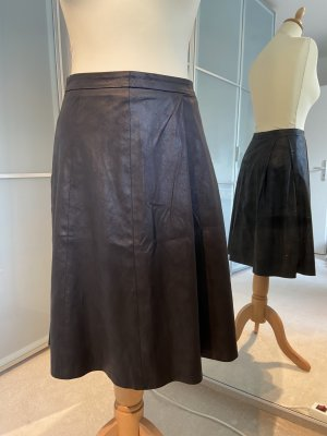Drykorn Faux Leather Skirt black