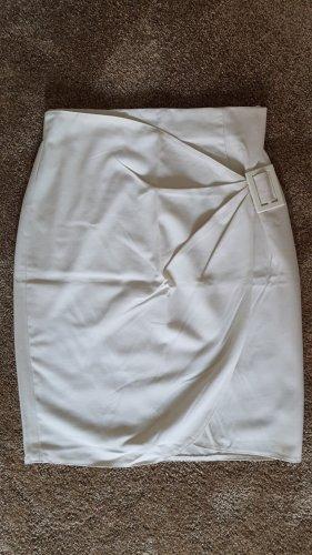 H&M Wraparound Skirt natural white
