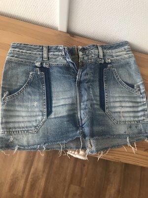 Replay Denim Skirt azure