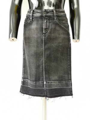 7 For All Mankind Denim Skirt anthracite