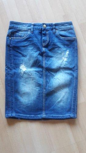 Conleys Pencil Skirt dark blue