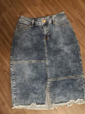 Rock jeansrock Washed Optik Achtung Taschen hinten eng aneinander!  Midi