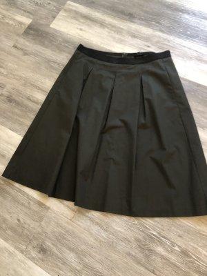 Opus Plaid Skirt khaki