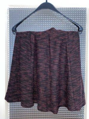 C&A Yessica Falda de punto negro-burdeos