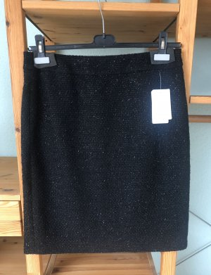 Gerry Weber Tweed rok zwart-zilver