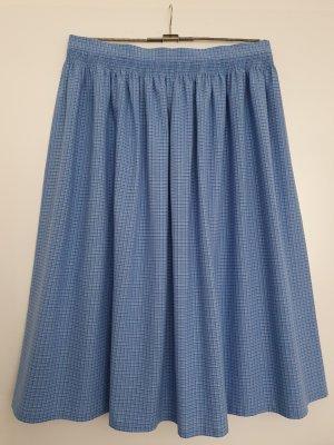 Traditional Skirt cornflower blue