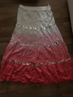 bpc selection Maxi rok wit-lichtrood