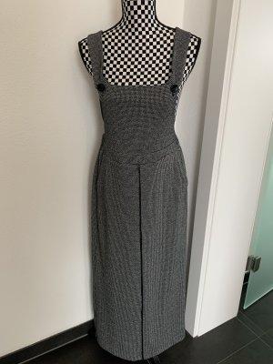 Rinascimento Pinafore Overall Skirt black-white