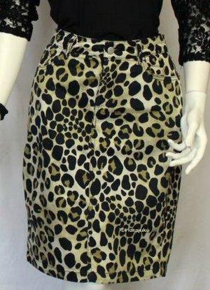 Rock Leoparden Muster Zara
