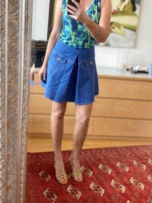 Love Moschino Denim Skirt blue