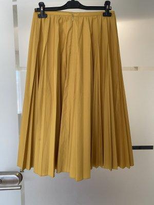 Luisa Cerano Pleated Skirt yellow-primrose