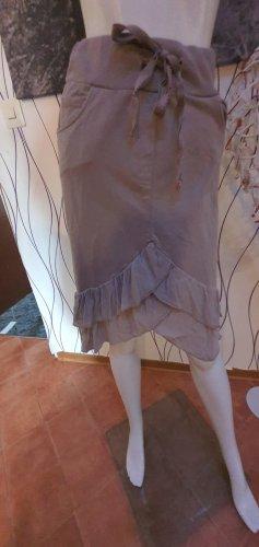 Asymmetry Skirt oatmeal