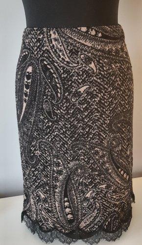Marc Cain Wollen rok zwart-brons