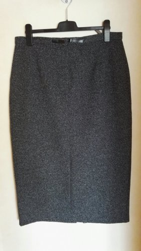 Canda Jupe longue noir-blanc polyester