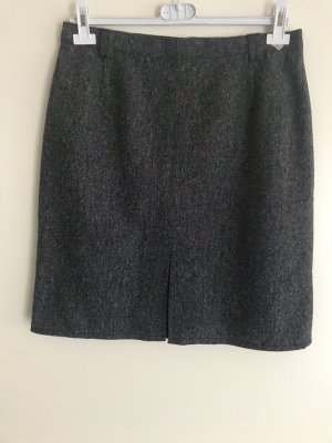 Canda Wool Skirt black-natural white