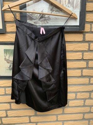 Lipsy Falda midi negro