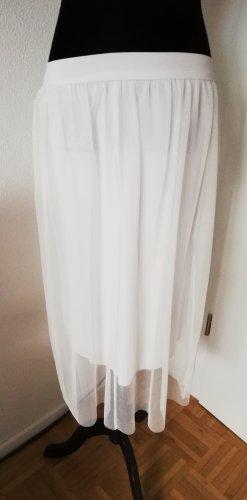 Made in Italy Falda de tul blanco