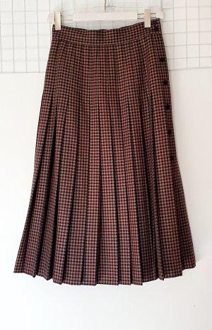 Laurèl Midi Skirt black-brown