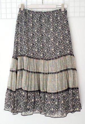 Anna Sui Midi Skirt multicolored viscose