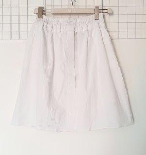 Carven Mini-jupe blanc coton